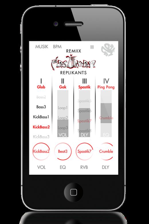 Remix_Plastikman_Replikants_iphone_performance